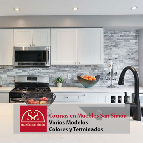 Cocinas en Muebles San Simón
