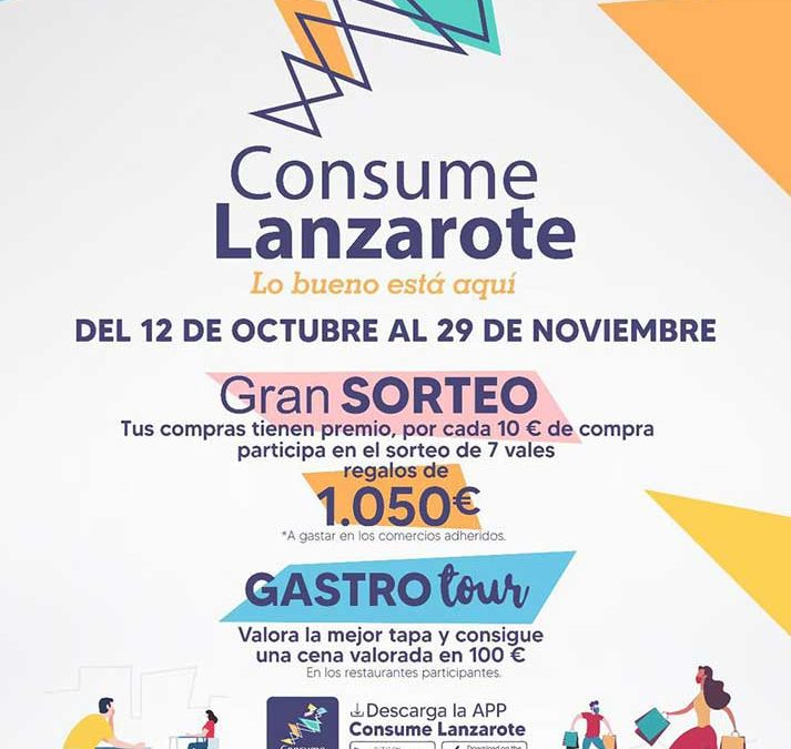 Consume Lanzarote autumn 2020 promotion