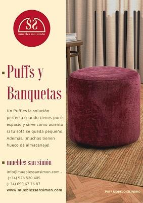 Catálogo Puff y Banquetas Muebles San Simón