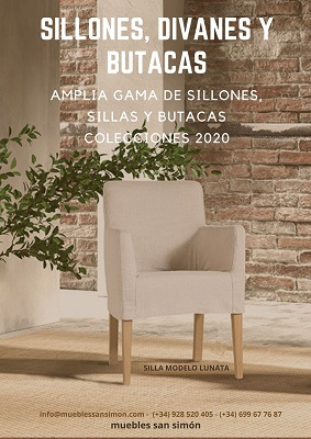 Catálogo Sillones, Divanes y Butacas Muebles San Simón