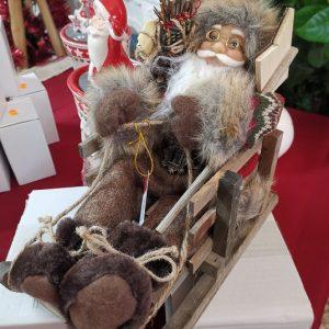 Figura de Santa Claus en Trineo 1