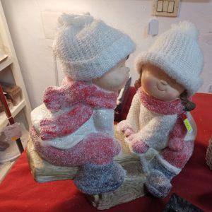 Muñecos Navideños en Columpio 1