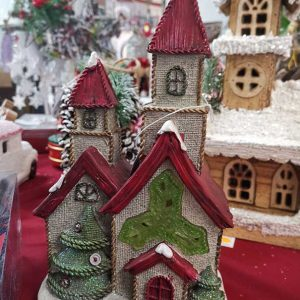 casita navideña