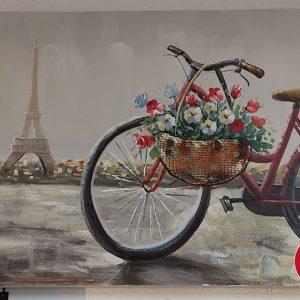 cuadro bicicleta