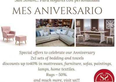 In May, our anniversary mount, we're offering super discounts on all our products, and plenty of gifts!